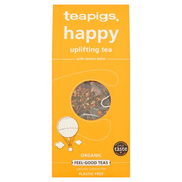 Teapigs Hy Organic Tea Bags With Lemon Balm