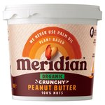 Meridian Organic Crunchy Peanut Butter 100% Nuts