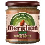 Meridian Organic Smooth Almond Butter 100% Nuts