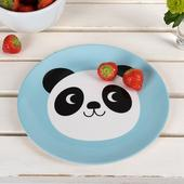 REX London Miko The Panda Melamine Plate