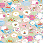 Teapots Gift Wrap Sheets