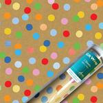 Colour Dot Gift Wrap Sheets