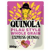 Quinola Pilau Style Wholegrain Ready to Eat Quinoa