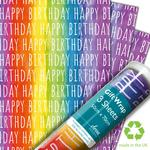Rainbow Birthday Gift Wrap Sheets