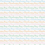 Christening Gift Wrap Sheets