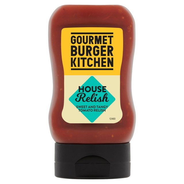 Gourmet Burger Kitchen House Relish 240g From Ocado