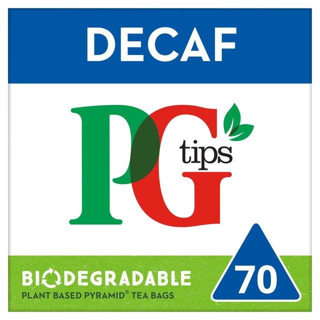 Pg Tips The Tasty Decaf Tea Bags Ocado