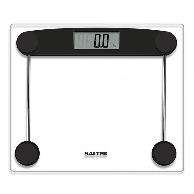 Salter Compact Gl Electronic Bathroom Scale