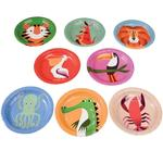 Rex London Colourful Creatures Plates