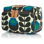 Orla Kiely Primrose Jade Medium Washbag