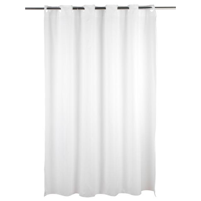 Beldray Stripe Hookless Shower Curtain