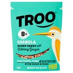 Troo Granola Super Seedy with Calming Ginger