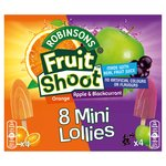 Fruit Shoot Mini Ice Lollies