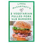 Linda McCartney Vegetarian Pulled Pork Quarter Pounder Burger