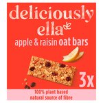 Deliciously Ella Apple, Raisin & Cinnamon Oat Bar Multipack