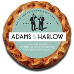 Adams & Harlow Pork & Stilton Pie