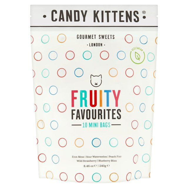 candy kittens fruity favourites mini bags