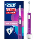 Oral-B Junior Electric Rechargeable Toothbrush, Purple