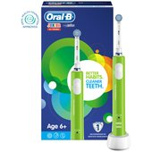 Oral-B Junior Electric Rechargeable Toothbrush, Green