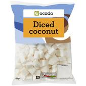 Ocado Frozen Diced Coconut