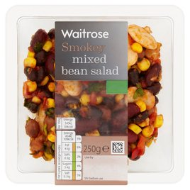 Waitrose Smokey Mixed Bean Salad | Ocado