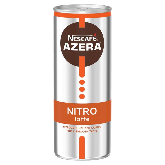 Nescafe Azera Nitro Latte Cold Coffee 192ml From Ocado