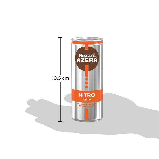 Nescafe Azera Nitro Latte Cold Coffee