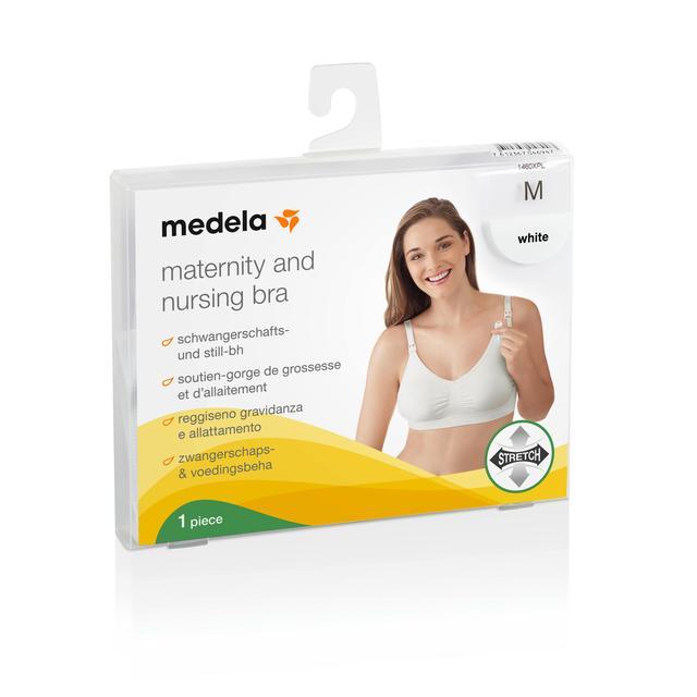 7473a5f23d8 Medela Maternity   Nursing Bra White Medium from Ocado
