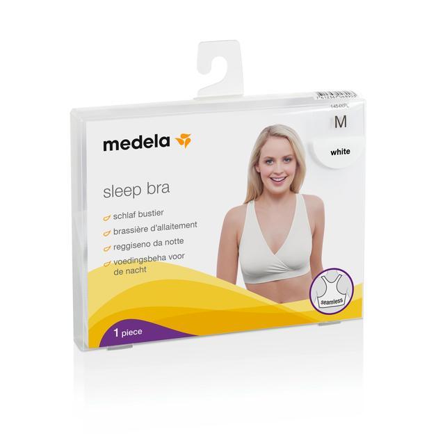03745c2259f92 Medela Sleep Bra White Medium from Ocado