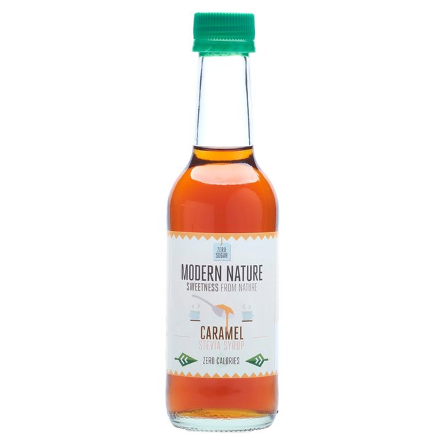 Modern Nature Caramel Coffee Syrup - Sugar Free 250ml from ...