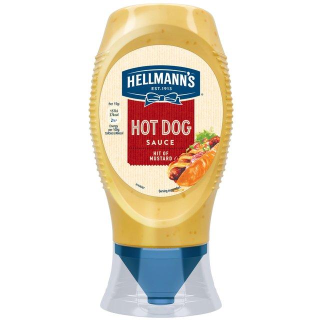 hellmann 39 s hot dog sauce 250ml from ocado. Black Bedroom Furniture Sets. Home Design Ideas