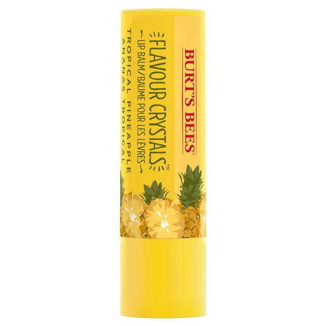 Burt's Bees Flavour Crystals Lip Balm, Tropical Pineapple