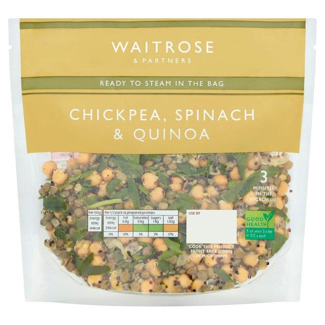 Waitrose Chickpea, Spinach & Quinoa | Ocado