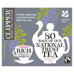 Clipper Fairtrade National Trust Blend Teabags