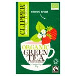 Clipper Organic Fairtrade Green Tea with Strawberry