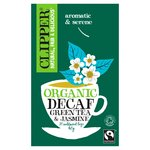 Clipper Organic Fairtrade Decaf Green Tea with Jasmine