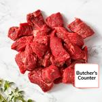 Ocado British Diced Braising Steak