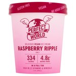 Perfect World Raspberry Ripple Low Calorie Ice Cream