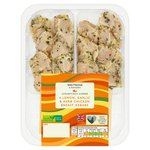 Waitrose BBQ 4 Lemon & Garlic Chicken Kebab