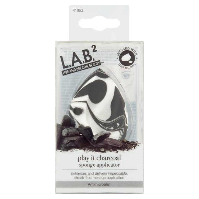 LAB 2 Purity Charcoal Infused Sponge