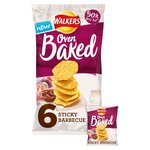 Walkers Oven Baked Sticky BBQ Snacks