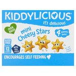 Kiddylicious Cheesy Stars Multi