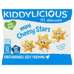 Kiddylicious Cheesy Stars