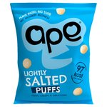 Ape Coconut & Rice Puffs Sharing Bag Lightly Salted