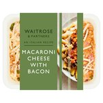 Waitrose Italian Macaroni Cheese with Bacon