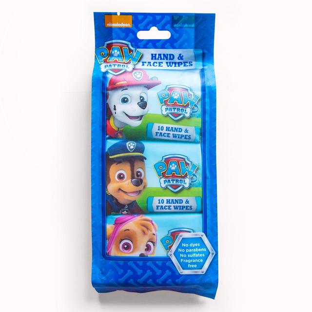 Paw Patrol Hand & Face WetWipes Multi pack x3 (copy)