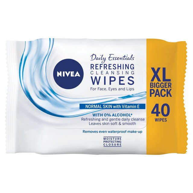 NIVEA Refreshing Cleansing Face Wipes