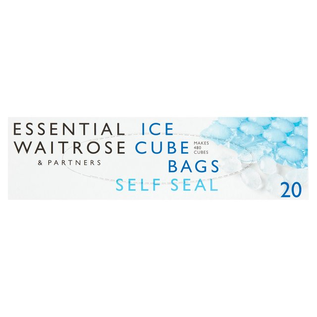 Essential Waitrose Ice Cube Bags