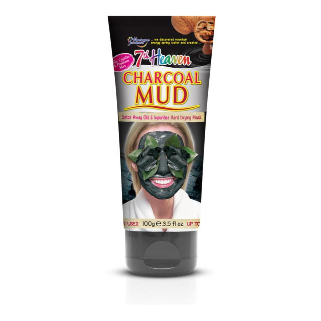 Montagne Jeunesse 7th Heaven Charcoal Mud Mask Tube
