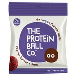The Protein Ball Co. Peanut Butter & Jam Protein Balls